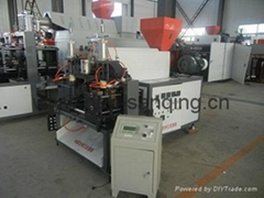 full automatic plastic blow moulding machine with deflashing