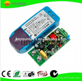 7W 12W 12VDC 24VDC Dimmable led driver traic dimming driver 0/1-10v