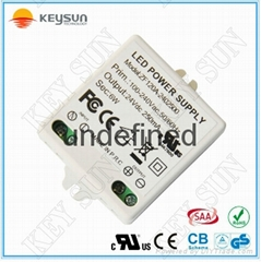 Constant voltage power supply 24V 6W ac dc power supply 24 volt 250MA led driver
