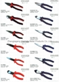 European-style garden pliers, big head diagonal cutting pliers,