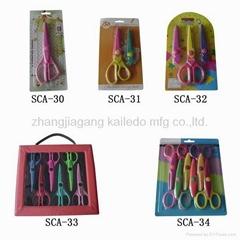 Blister packaging scissors