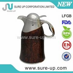 Arabic vacuum coffee pot stainless steel water pot