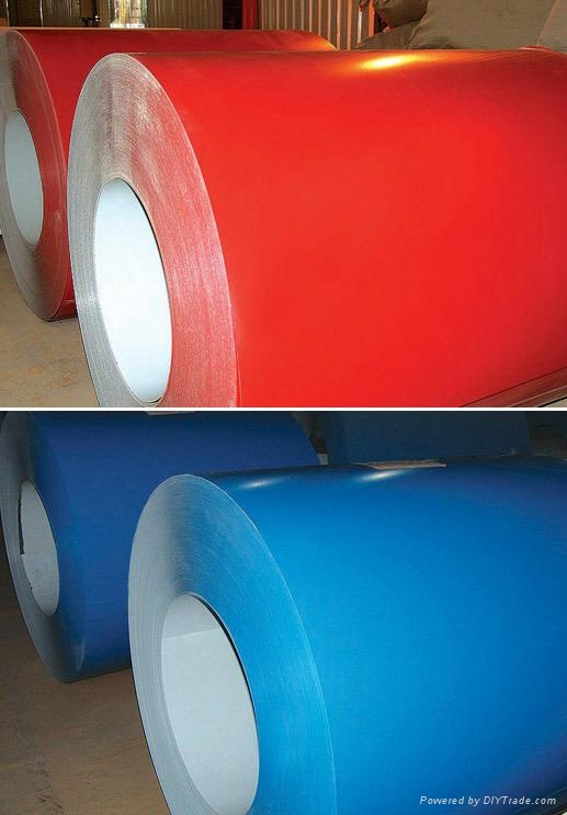High Quality Prepainted Galvanized Steel Coils 1