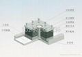 鋼結構連廊LY型拉壓橡膠支座