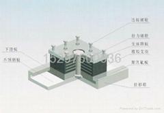 钢结构连廊LY型拉压橡胶支座