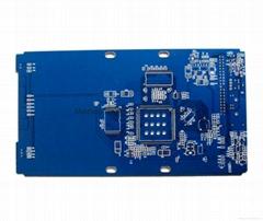Blue Solder Mask 2-layer PCB