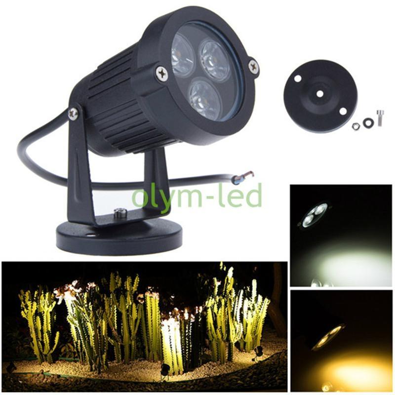 3W 5W LED Garden Light Lawn Lamp Outdoor IP67 LED Landscape Spot Light 1
