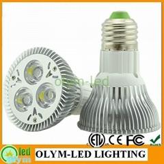 9W 15W LED PAR20 Spotlight Dimmable