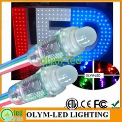 LED pixel light RGB Color Full color 12mm WS2811 led pixel module Waterproof