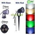 Super Bright LED Garden Lawn Lamp 3W 6W