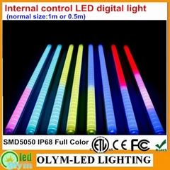 SMD5050 LED Guardrail Tube RGB Digital