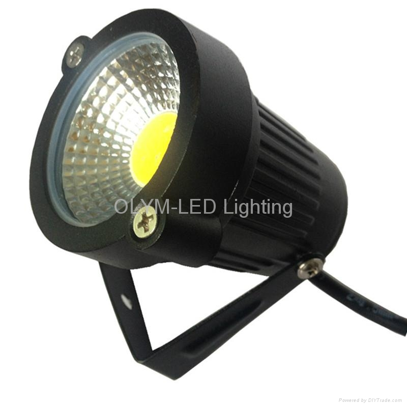 outdoor waterproof led garden light 220v 110v 12v 3w 5w cob led lawn spike li. Black Bedroom Furniture Sets. Home Design Ideas