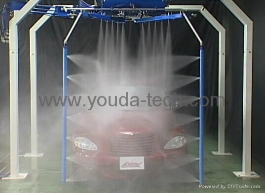 60 Seconds Automatic Touchless Car Wash Machine With CE Approved 1