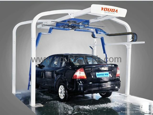 60 Seconds Automatic Touchless Car Wash Machine With CE Approved 2