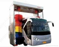 Automatic Bus Wash Machine with wax systems