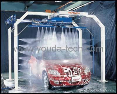 Semi-Automatic Touchless Car Wash Machine 1