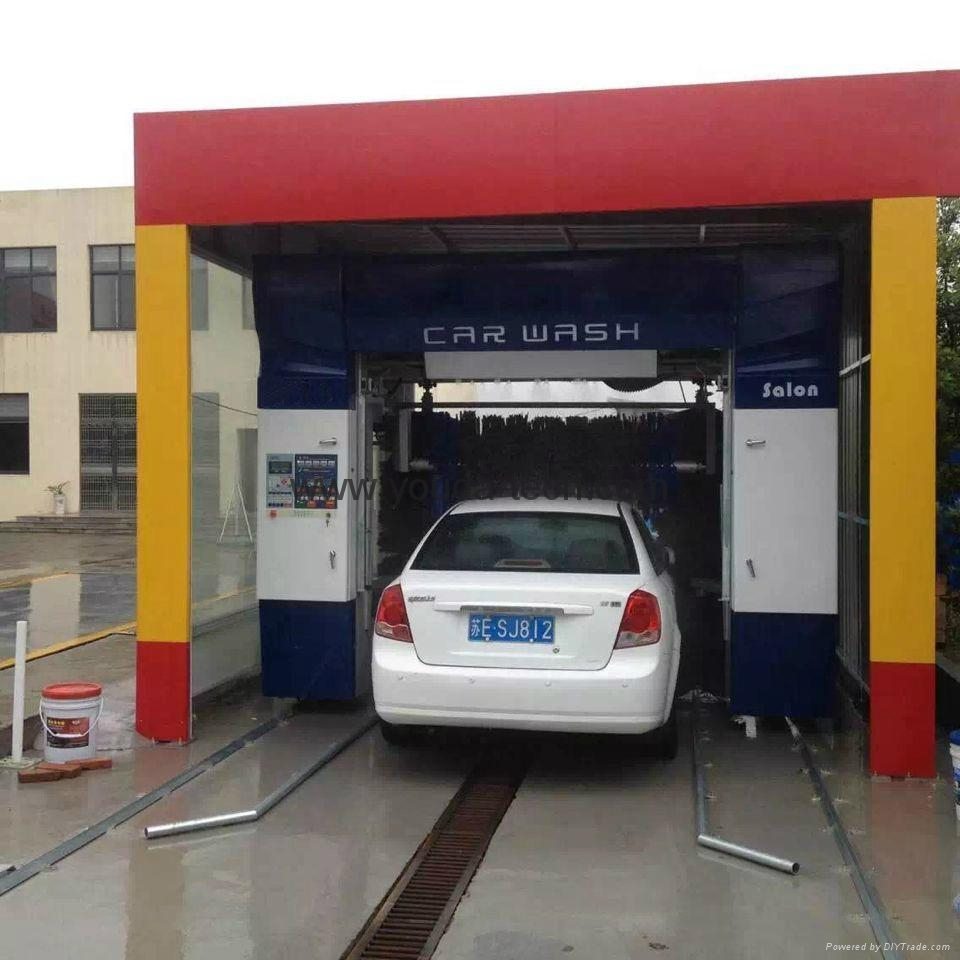 Automatic Rollover Car Wash Machine With Water Wash Foam Wax and Dryer Systems 2