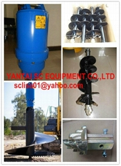 earth auger digger for excavator