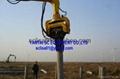 pile hammer by excavator
