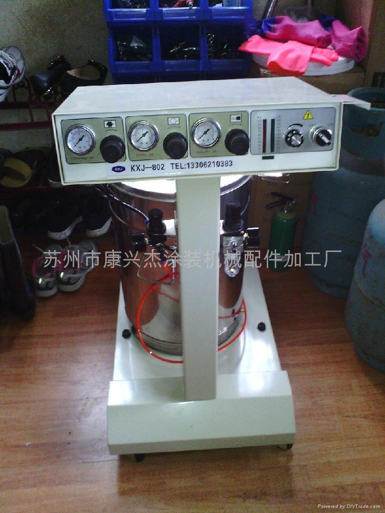 苏州康兴杰kxj-802粉末涂料静电喷涂机 1