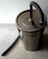 带流化板不锈钢供粉桶 3