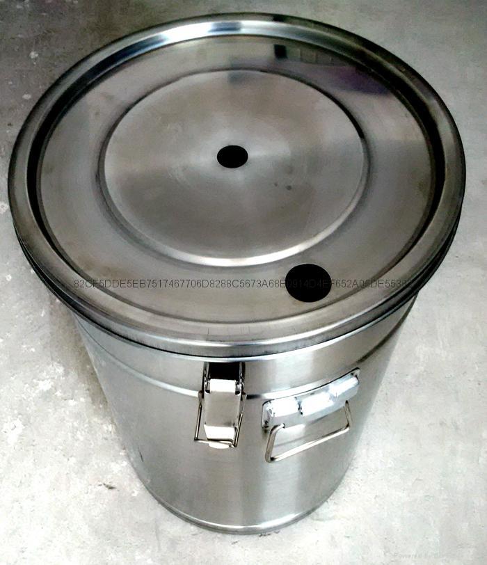 帶流化板不鏽鋼供粉桶 4