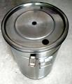 带流化板不锈钢供粉桶 4
