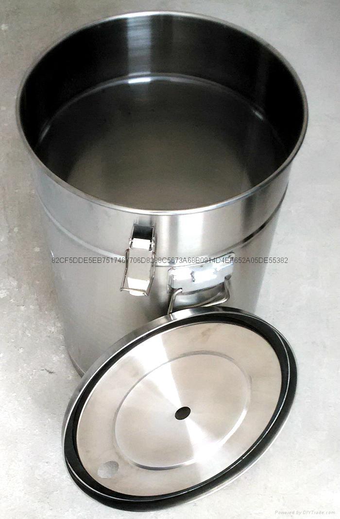 帶流化板不鏽鋼供粉桶 5