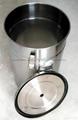 带流化板不锈钢供粉桶 5