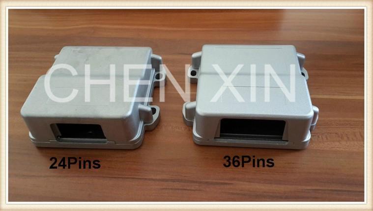 24Pins ECU PCB Single Hole Aluminum Enclosure Box II  4