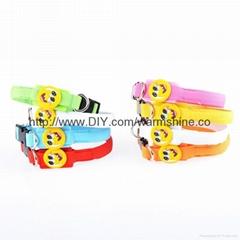 X-small led dog collar