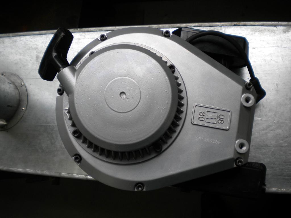 二沖程風冷汽油機 型號1E45F-3A 4