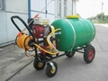 Hand propelled power sprayer WSJ-300L