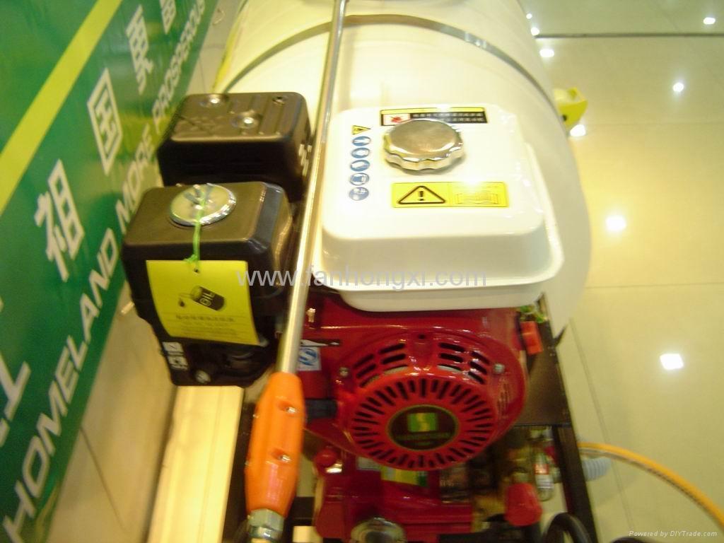 Hand propelled power sprayer  WSJ-200LC 4
