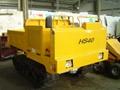 Tracked dump truck HS-40 (Diesel engine 53HP)