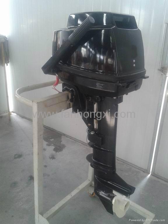 Diesel outboard motor RT-9 1