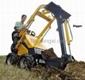 Mini skid steer loader HY380 with