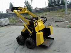 Mini skid steer loader JL300 (gas engine 23HP)
