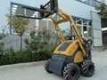 Mini skid steer loader JL300 with Fork