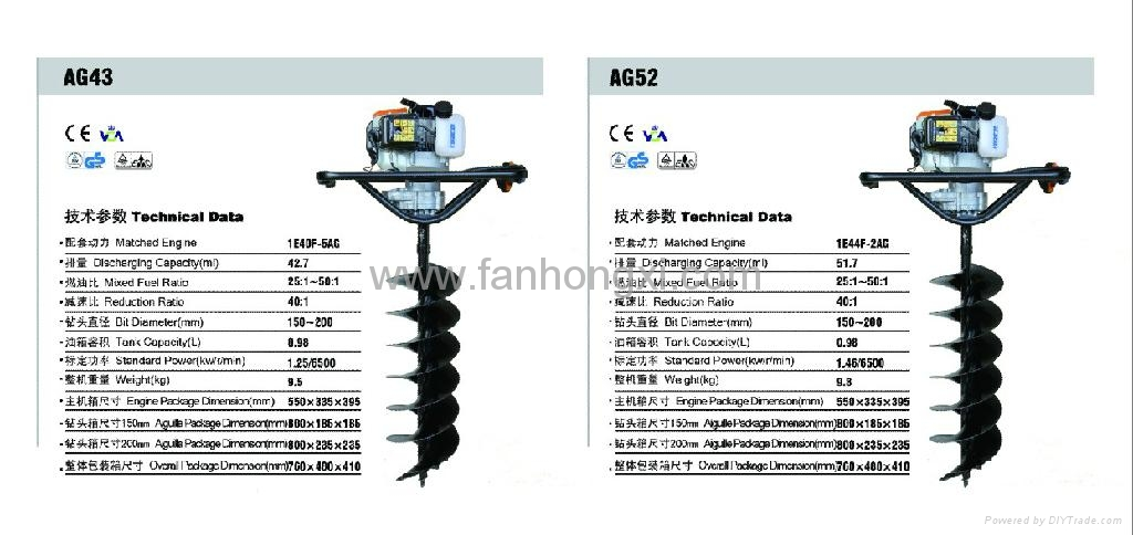 Ground driller AG43