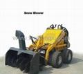 Mini skid steer loader HY380 -Snow