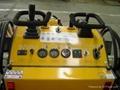 Mini skid steer loader HY380 - angle blade
