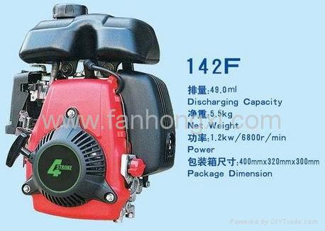 4-stroke Gasoline Engine 142F,