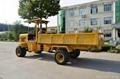 Truck dumper with wheel RT-300