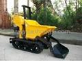 Self-loading type truck dumper RT-400