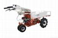 Wheel type transporter / truck dumper WYG-300A