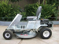 Ride on type lawn mower