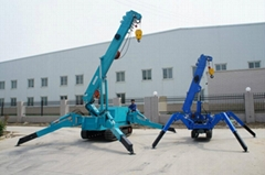 Mini spider crane/hydraulic crane WY-30 (Hot Product - 1*)