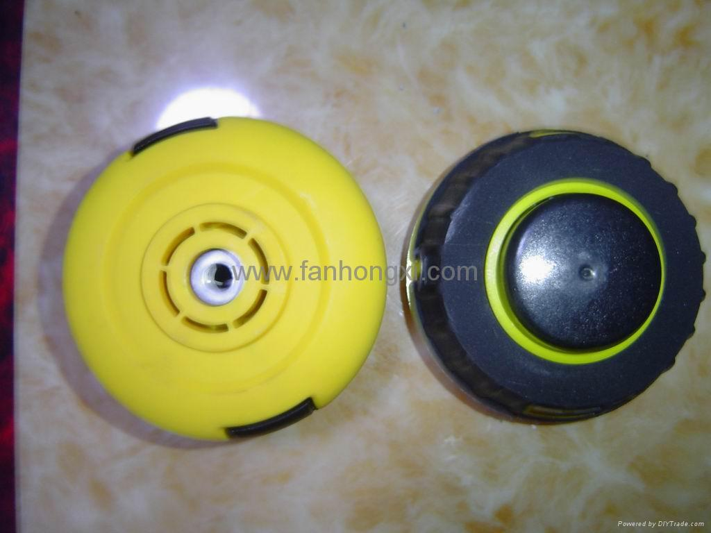 how to close nylon grass cutter