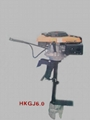 electric /gasoline outboard motor 7
